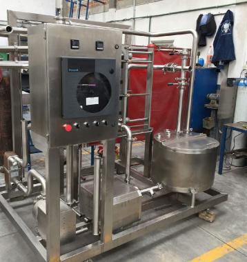 Pasteurizadores HTST 1,000 Lts/Hr