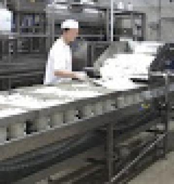 Banda  de Moldeo  y Llenado  de  queso  fresco  tipo Panela  Marca Milk Projects  Italia